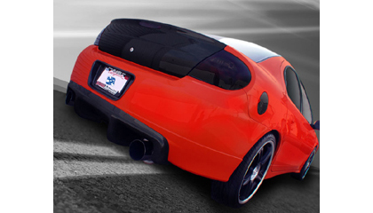 03-05 Dodge Neon SRT4 Carbon By Design Trunks - Fiberglass