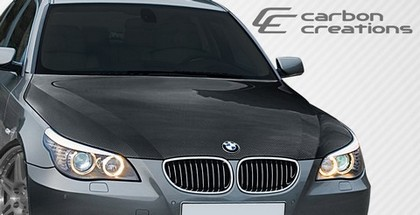 04-08 BMW 5 Series E60 Carbon Creations OEM Hood