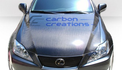 2006-2008 Lexus IS Series Carbon Creations  OEM  Carbon Fiber Hood