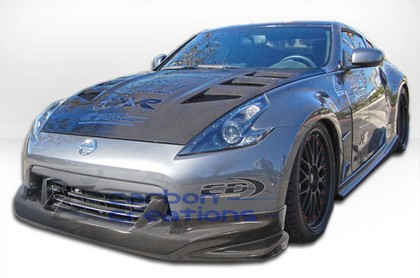 "09-10 Nissan 370Z Carbon Creations ""N"" Body Kit - 4 Piece (Carbon Fiber)"