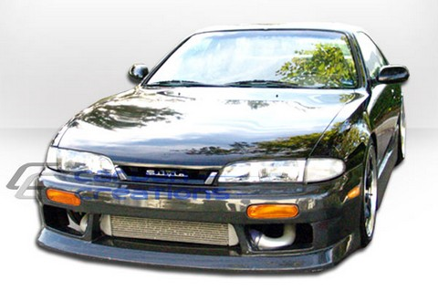 95-96 Nissan 240SX V-Speed Body Kit - Front Bumper