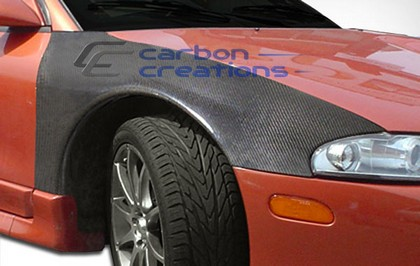 95-98 Eagle Talon Carbon Creations OEM Fenders