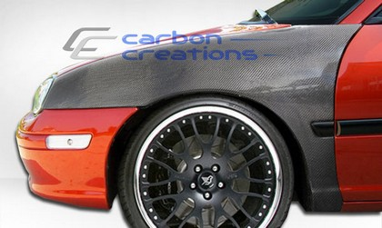 95-99 Dodge Neon Carbon Creations OEM Fenders