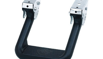 83-93 Mazda B-Series CARR Truck Steps - Hoop II XP3 (Black)