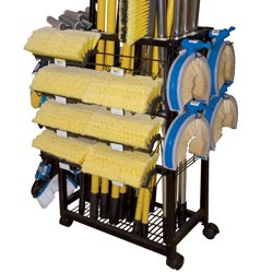Universal (All Vehicles) Carrand Cleaning Brush Rolling Rack - Empty