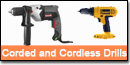 Corded and Cordless Drills