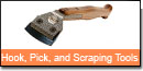 Hook and Pick and Scraping Tools