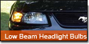 Low Beam Headlight Bulbs