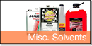 Miscellaneous Solvents