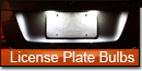 License Plate Bulbs
