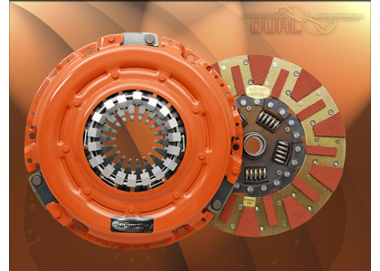 "87-89 Starion L4 2.6 Centerforce Clutch Kit - Dual Friction, Size 9 7/16"", 23 Spline By 1"" Incl. Pressure Plate, Clutch Disc w/o Throwout Bearing"