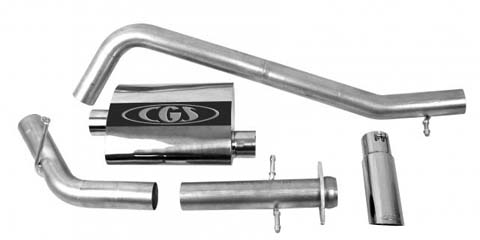07-08 Ford Expedition, 5.4L CGS Motorsports Exhaust Systems