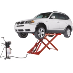 1998-2004 Lexus Lx470 Challenger Lifts 6,000 lb. Capacity Portable Mid Rise Lift