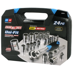 1978-1987 GMC Caballero Channellock 24 Piece Uni-Fit Socket Set