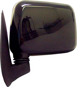 94-97 Honda Passport CIPA Manual Remote Mirror - Driver Side Foldaway Non-Heated (Black)