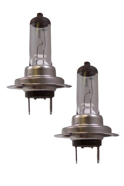 06 Volkswagen Golf CIPA Vistas H7 Halogen Bulbs - DOT Approved (White)