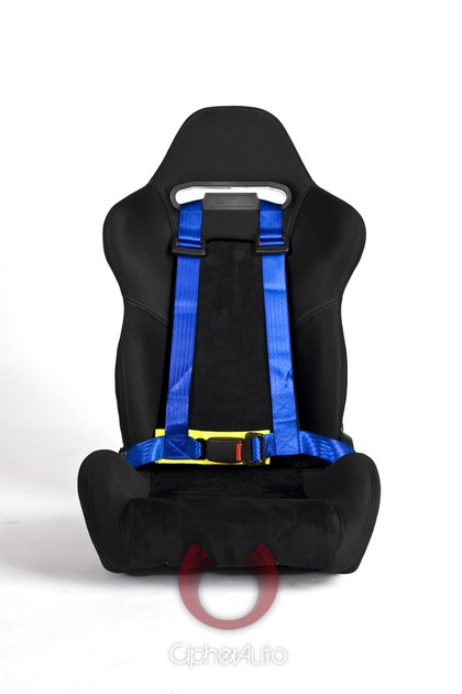 93 CHEVROLET TYPHOON Cipher Auto Blue 4 Point Racing Harness Set