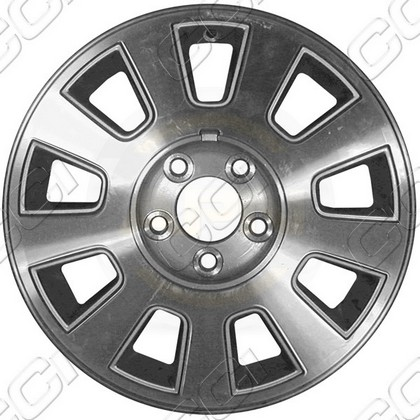 2006-2010 Ford Crown Victoria Coast to Coast Chrome Plated Wheels - 9 Spoke - 16x7 - 5 Lug