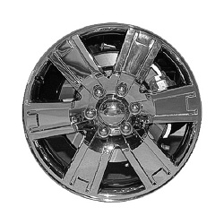 2007-2013 Ford Expedition Coast to Coast Chrome Clad Wheels - 6 Spoke - 20x8.5 - 6 Lug