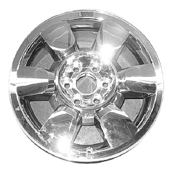 2009-2013 GMC Yukon, XL Coast to Coast Chrome Clad Wheels - 6 Spoke - 20x8.5 - 6 Lug