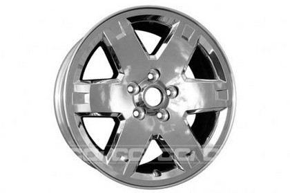 2005-2007 Jeep Liberty Coast to Coast Chrome Clad Wheels - 6 Spoke - 17x7 - 5 Lug
