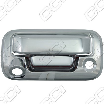2008-2013 Ford Superduty Coast to Coast Tail Gate Handle with Camera - Chrome (2-Piece)