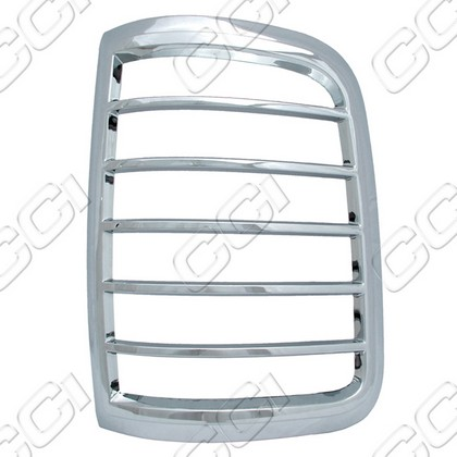 2004-2008 Ford F150  Coast to Coast Tail Light Bezels - Chrome (2 Piece)
