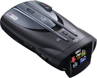 All Jeeps (Universal) Cobra Radar Detector - XRS 9950 - 12 Band Maximum Performance Digital Radar/Laser Detector with Full Color ExtremeBright DataGrafix Display II