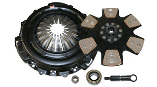 1991-1993 Dodge Daytona 2.5L/3.0L Competition Clutch Performance Clutch Kit - Scc - Stage 4 - 6 Pad Rigid Ceramic