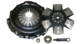 1995-2000 Ford Contour 2.5L Competition Clutch Performance Clutch Kit - Domestic - Ironman 6 Puck Rigid