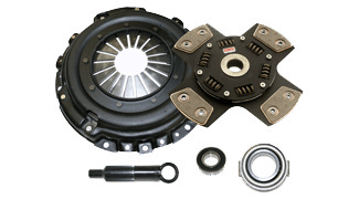 1973-1974 Nissan 260Z 2.6L Competition Clutch Performance Clutch Kit - Scc - Stage 5 - 4 Pad Ceramic