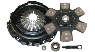 1991-1993 Dodge Daytona 2.5L/3.0L Competition Clutch Performance Clutch Kit - Scc - Stage 4 - 6 Pad Ceramic