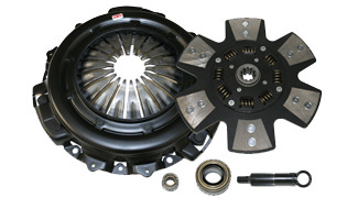 1986-1995 Toyota Light Truck & Van 4Runner 2.4L Competition Clutch Performance Clutch Kit - Scc - Ironman - 6 Pad Iron