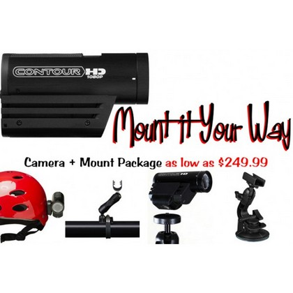 2007-9999 Audi RS4 Contour Mount It Your Way Camera Package