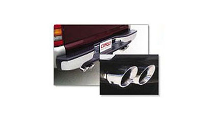 "00 Chevrolet Tahoe 4.8L / 5.3L Corsa Exhaust Systems - Touring Single Side Exit w/ Twin Pro Series 4"" Tip"