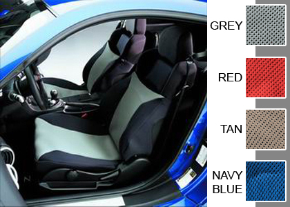 03-06 Nissan 350Z Covercraft Seat Covers - Seat Gloves (Navy Blue)