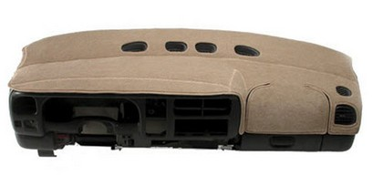 96-98 X-90 Coverking Custom Tailored Dashboard Covers Velour Beige