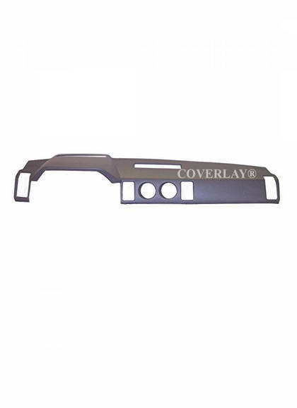 84-89 300ZX Coverlay Dash Cover - Dark Gray