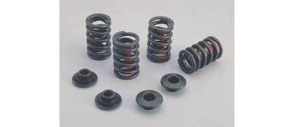 66-74 Corvette Crane Valve Spring Retainers Steel - (Multi-Fit Valve Stem Diameter - OD Outer Spring 1.5 in. - H Comparison .210 in.)