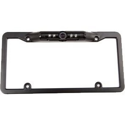 "All Jeeps (Universal) Crime Stopper 1/3"" CMOS License Plate Camera With 180-Deg. Viewing (Black)"