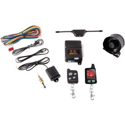 All Jeeps (Universal) Crime Stopper 2-Way Paging Combo Alarm & Remote Start With Rechargeable Remote