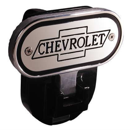 "Chevy Truck DefenderWorx Inscribed Chevrolet Fold Down Step Hitch - 2"" (Black)"