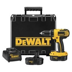 "Universal (All Vehicles) Dewalt Tools 1/2"" Drive Heavy-Duty Compact 18 Volt Cordless Drill/Driver Kit"