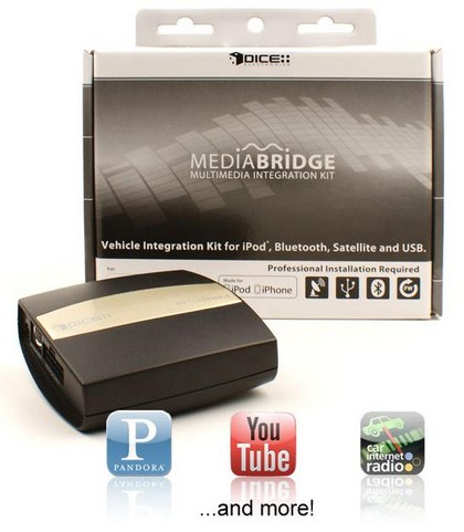 06-09 Honda Fit Dice - MediaBridge Multimedia Integration Kit with Bluetooth (Radio or SAT Connection)