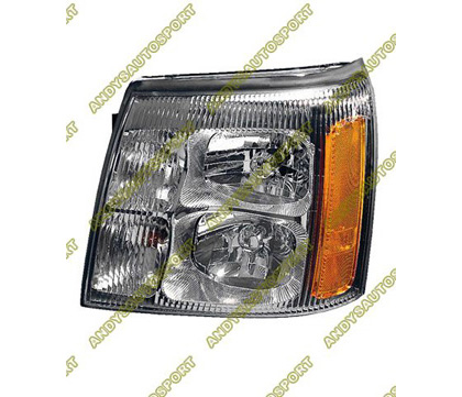 02 Cadillac Escalade Dimension Lab Headlights - OEM Style Replacement (Driver Side)