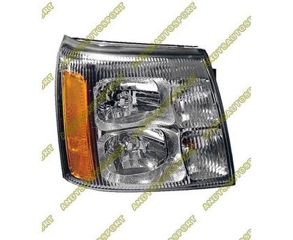 02 Cadillac Escalade Dimension Lab Headlights - OEM Style Replacement (Passenger Side)