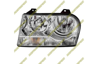05-07 Chrysler 300 Dimension Lab Headlights - OEM Style Replacement (Driver Side)