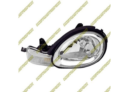 00-02 Dodge Neon Dimension Lab Headlights - OEM Style Replacement (Driver Side)