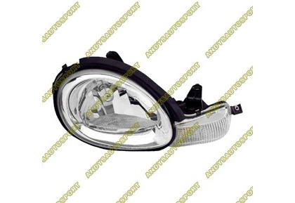 00-02 Dodge Neon Dimension Lab Headlights - OEM Style Replacement (Passenger Side)