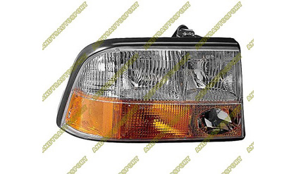 98-04 GMC Sonoma Dimension Lab Headlights - OEM Style Replacement (Driver Side)